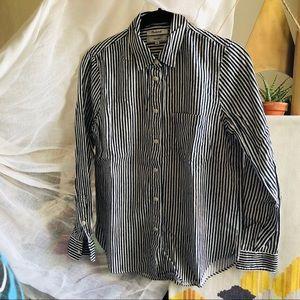 Madewell shrunken ex boyfriend shirt